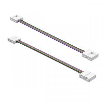 Соединитель для светодиодной ленты Lightstar 408111, белый, пластик