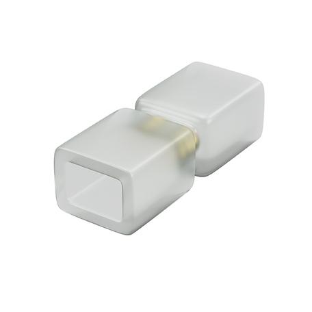 Соединитель для светодиодной ленты Lightstar 408901, белый, пластик