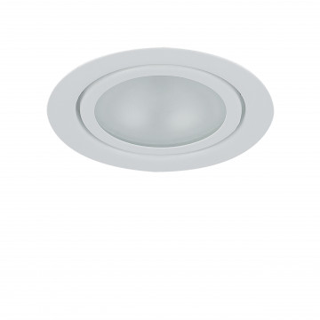 Встраиваемый мебельный светильник Lightstar Mobi Inc 003200, 1xG4x20W, белый, металл