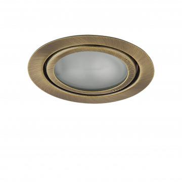Встраиваемый мебельный светильник Lightstar Mobi Inc 003201, 1xG4x20W, бронза, металл