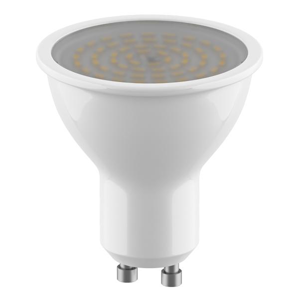 Светодиодная лампа Lightstar LED 940252 HP16 GU10 4,5W, 3000K (теплый) 220V, гарантия 1 год - фото 1