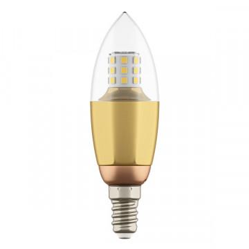 Светодиодная лампа Lightstar LED 940522 свеча E14 7W, 3000K (теплый) 220V, гарантия 1 год