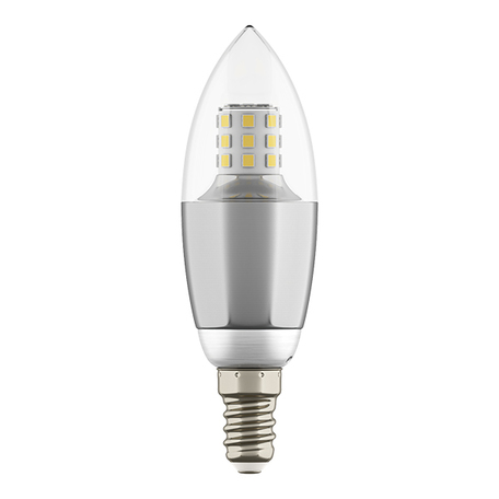 Светодиодная лампа Lightstar LED 940544 свеча E14 7W, 4000K (дневной) 220V, гарантия 1 год