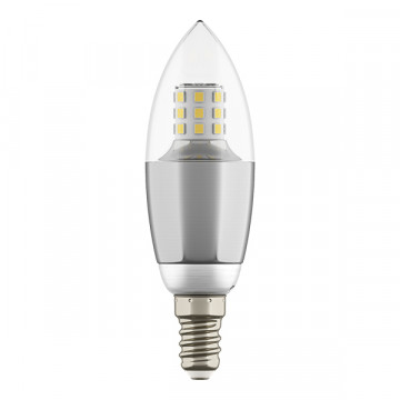 Светодиодная лампа Lightstar LED 940544 свеча E14 7W, 4000K (дневной) 220V, гарантия 1 год - миниатюра 2