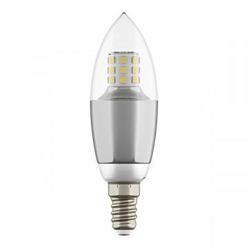 Светодиодная лампа Lightstar LED 940544 свеча E14 7W, 4000K (дневной) 220V, гарантия 1 год - миниатюра 3