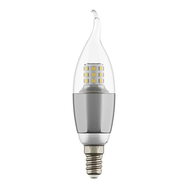 Светодиодная лампа Lightstar LED 940642 CA35 E14 7W 3000K (теплый) 220V, гарантия 1 год - фото 1