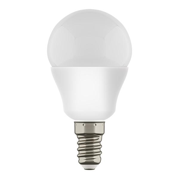 Светодиодная лампа Lightstar LED 940802 шар E14 7W, 3000K (теплый) 220V, гарантия 1 год - фото 1