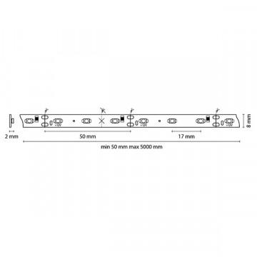 Схема с размерами Lightstar 400004