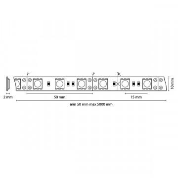 Схема с размерами Lightstar 400052