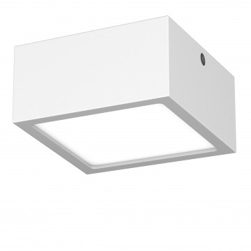Потолочный светодиодный светильник Lightstar Zolla 213926, IP44, LED 10W 4000K 780lm, белый, металл