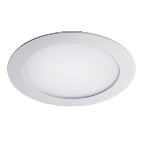 Встраиваемая светодиодная панель Lightstar Zocco 223124, IP44, LED 12W 4000K 600lm, белый, металл с пластиком