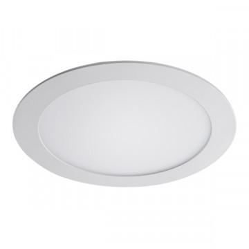Встраиваемая светодиодная панель Lightstar Zocco 223184, IP44, LED 18W 4000K 900lm, белый, металл с пластиком