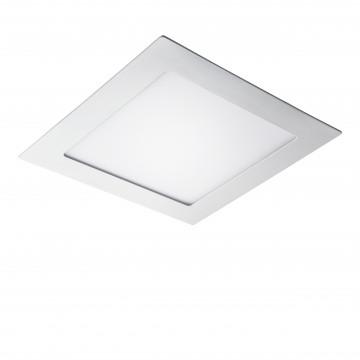 Встраиваемая светодиодная панель Lightstar Zocco 224154, IP44, LED 15W 4000K 600lm, белый, металл с пластиком