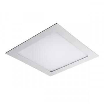 Встраиваемая светодиодная панель Lightstar Zocco 224184, IP44, LED 18W 4000K 900lm, белый, металл с пластиком