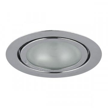 Встраиваемый мебельный светильник Lightstar Mobi Inc 003204, 1xG4x20W, хром, металл