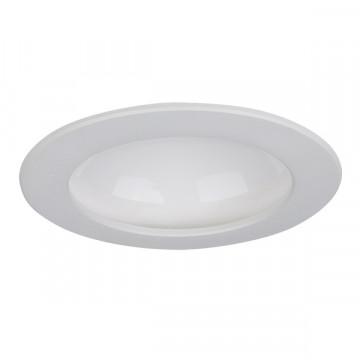 Встраиваемый светодиодный светильник Lightstar Riverbe 220122, 3000K (теплый), белый, металл, пластик