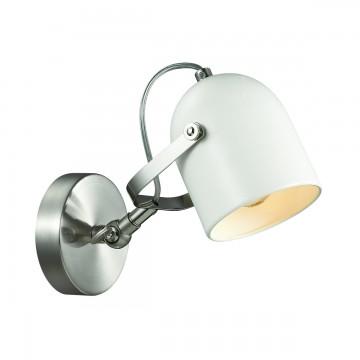 Потолочный светильник с регулировкой направления света Lumion Arudis 3592/1W, 1xE27x60W, никель, белый, металл