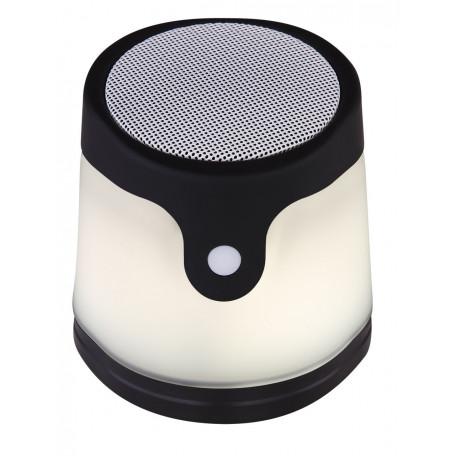 Настольная светодиодная лампа-ночник Globo Gropina 39904, LED 0,06W, черный, черно-белый, пластик