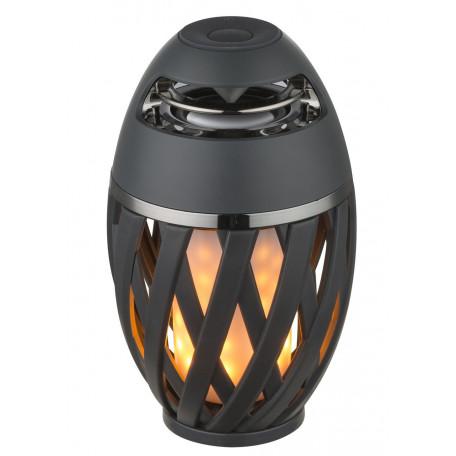 Садовый светодиодный светильник Globo Stream 39902, IP65, LED 1,4W, темно-серый, белый, пластик