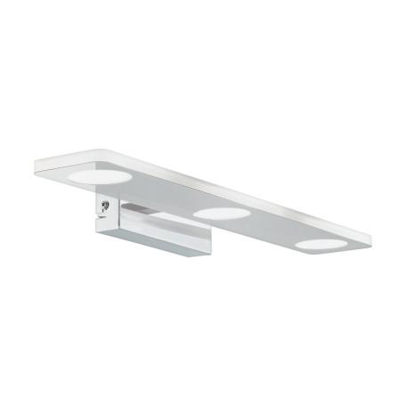 Настенный светодиодный светильник для подсветки зеркал Eglo Cabus 96937, IP44, LED 13,5W 3000K 1260lm, хром, металл, пластик