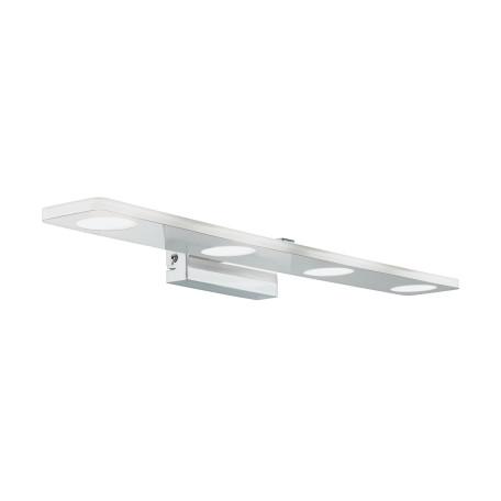 Настенный светодиодный светильник для подсветки зеркал Eglo Cabus 96938, IP44, LED 18W 3000K 1680lm, хром, металл, пластик
