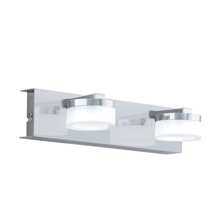 Настенный светодиодный светильник Eglo Romendo 1 96542, IP44, LED 14,4W 3000K 1140lm, хром, белый, металл, пластик