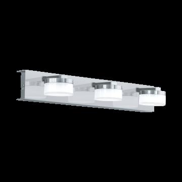 Настенный светодиодный светильник Eglo Romendo 1 96543, IP44, LED 21,6W 3000K 1710lm, хром, белый, металл, пластик
