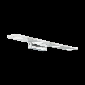 Настенный светодиодный светильник Eglo Cabus 96938, IP44, LED 18W 3000K 1680lm, хром, металл, пластик