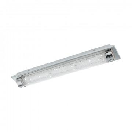 Настенный светодиодный светильник Eglo Tolorico 97055, IP44, LED 19W 4000K 2500lm, хром, прозрачный, металл, стекло