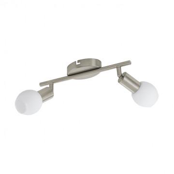 Потолочный светодиодный светильник с регулировкой направления света Eglo Vedra 1 96912, 3000K (теплый), никель, белый, металл, стекло