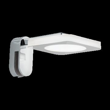 Мебельный светодиодный светильник Eglo Cabus 96936, IP44, LED 4W 3000K 420lm, хром, металл, пластик