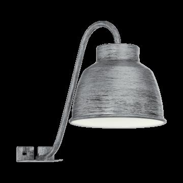 Мебельный светильник Eglo Epila 96887, IP44, 1xGU10x3,3W, серебро, металл