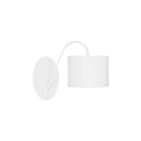 Бра Nowodvorski Alice 5382, 1xE27x60W, белый, металл, текстиль