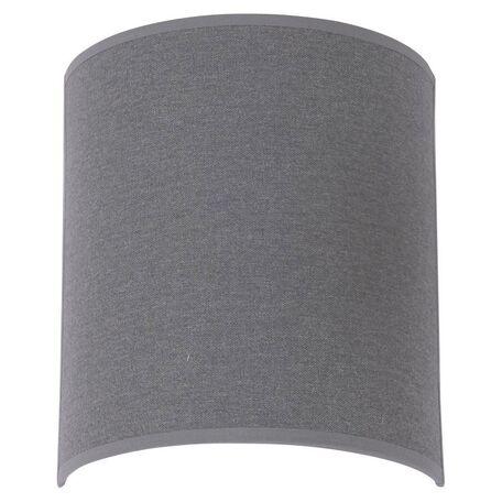 Настенный светильник Nowodvorski Alice 6812, 1xE27x60W, черный, серый, металл, текстиль