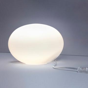 Настольная лампа Nowodvorski Nuage 7021, 1xE27x60W, белый, стекло