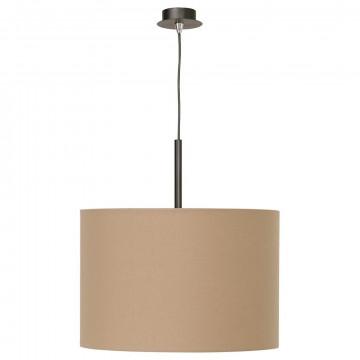 Подвесной светильник Nowodvorski Alice 3466, 1xE27x100W, черный, коричневый, металл, текстиль