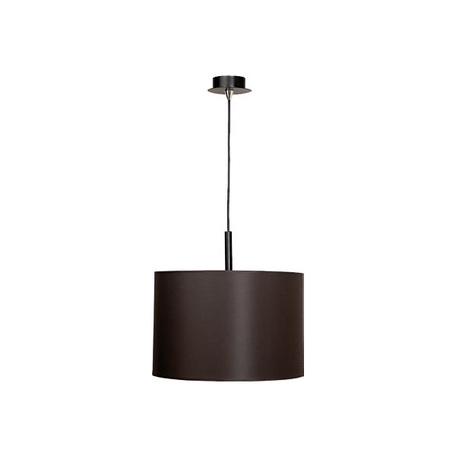 Подвесной светильник Nowodvorski Alice 3472, 1xE27x100W, черный, коричневый, металл, текстиль