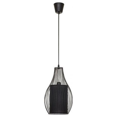 Подвесной светильник Nowodvorski Camilla 4610, 1xE27x40W, черный, металл