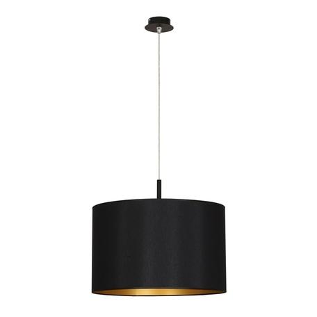 Подвесной светильник Nowodvorski Alice 4960, 1xE27x100W, черный, золото, металл, текстиль