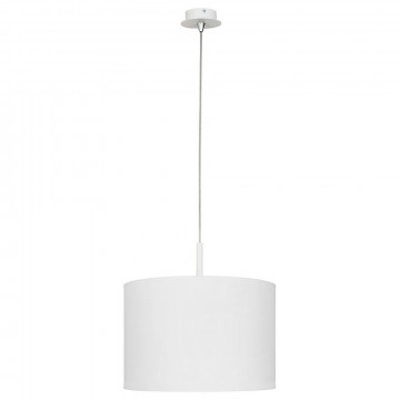 Подвесной светильник Nowodvorski Alice 5383, 1xE27x100W, белый, металл, текстиль