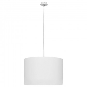 Подвесной светильник Nowodvorski Alice 5384, 1xE27x100W, белый, металл, текстиль
