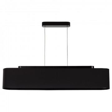 Подвесной светильник Nowodvorski Boat 6308, 4xE27x60W, черный, дерево, текстиль