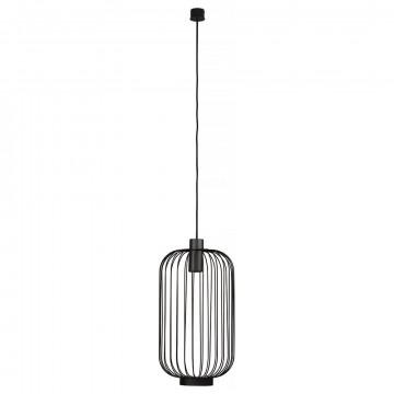 Подвесной светильник Nowodvorski Cage 6844, 1xGU10x30W, черный, металл