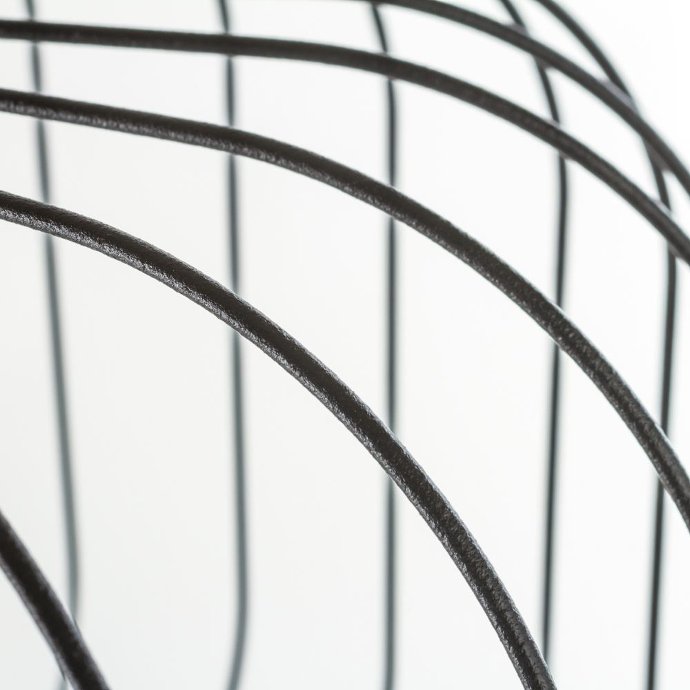Подвесной светильник Nowodvorski Allan 6941, 1xGU10x35W, черный, металл - фото 2