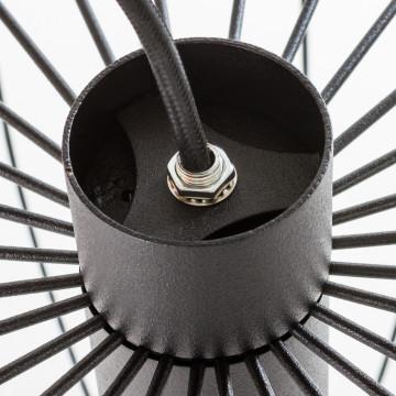Подвесной светильник Nowodvorski Allan 6941, 1xGU10x35W, черный, металл - миниатюра 4