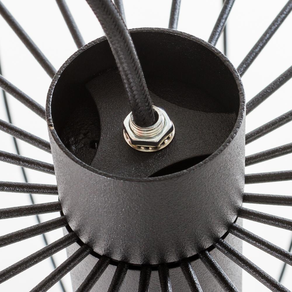 Подвесной светильник Nowodvorski Allan 6941, 1xGU10x35W, черный, металл - фото 4