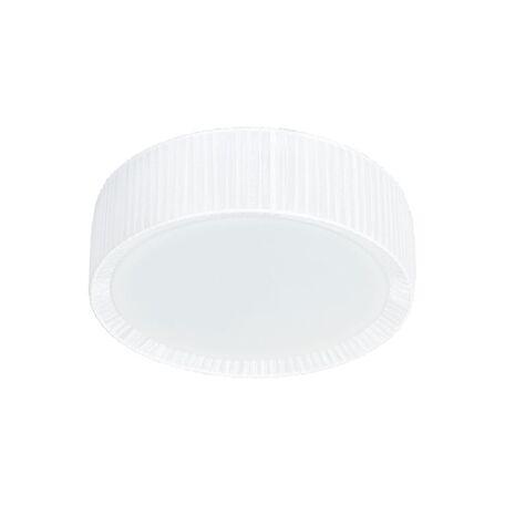 Потолочный светильник Nowodvorski Alehandro 5270, 2xE27x60W, хром, белый, металл, стекло, текстиль