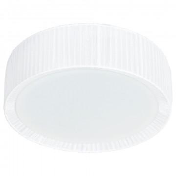 Потолочный светильник Nowodvorski Alehandro 5271, 3xE27x60W, хром, белый, металл, стекло, текстиль