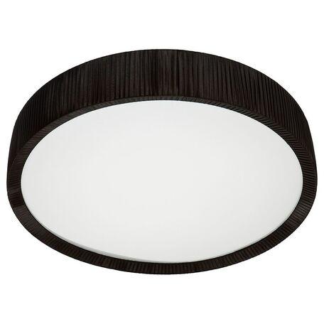 Потолочный светильник Nowodvorski Alehandro 5287, 2xG5T5x39W +  2xG5T5x24W + LED 16W, хром, белый, черный, металл, стекло, текстиль