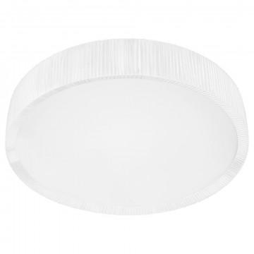 Потолочный светильник Nowodvorski Alehandro 5343, 2xG5T5x39W +  2xG5T5x24W, хром, белый, металл, стекло, текстиль